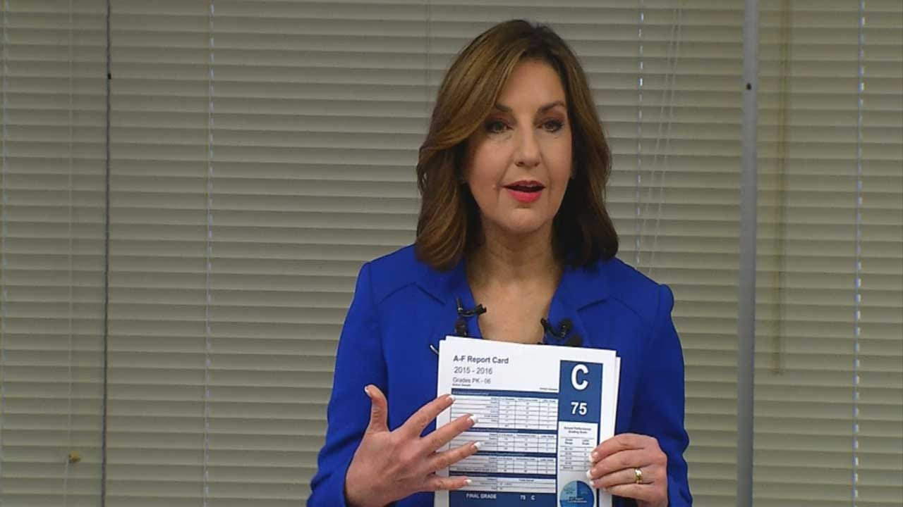 Oklahoma Changing School Report Card System