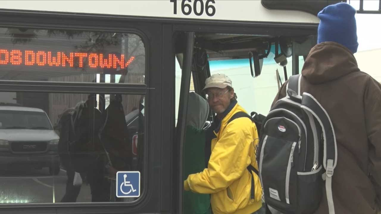 EMBARK Brings Bus Stops To OKC Homeless Alliance