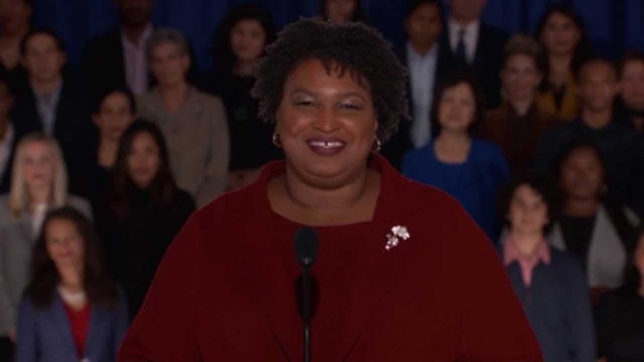 Stacey Abrams Delivers Democratic Response To The State Of The Union