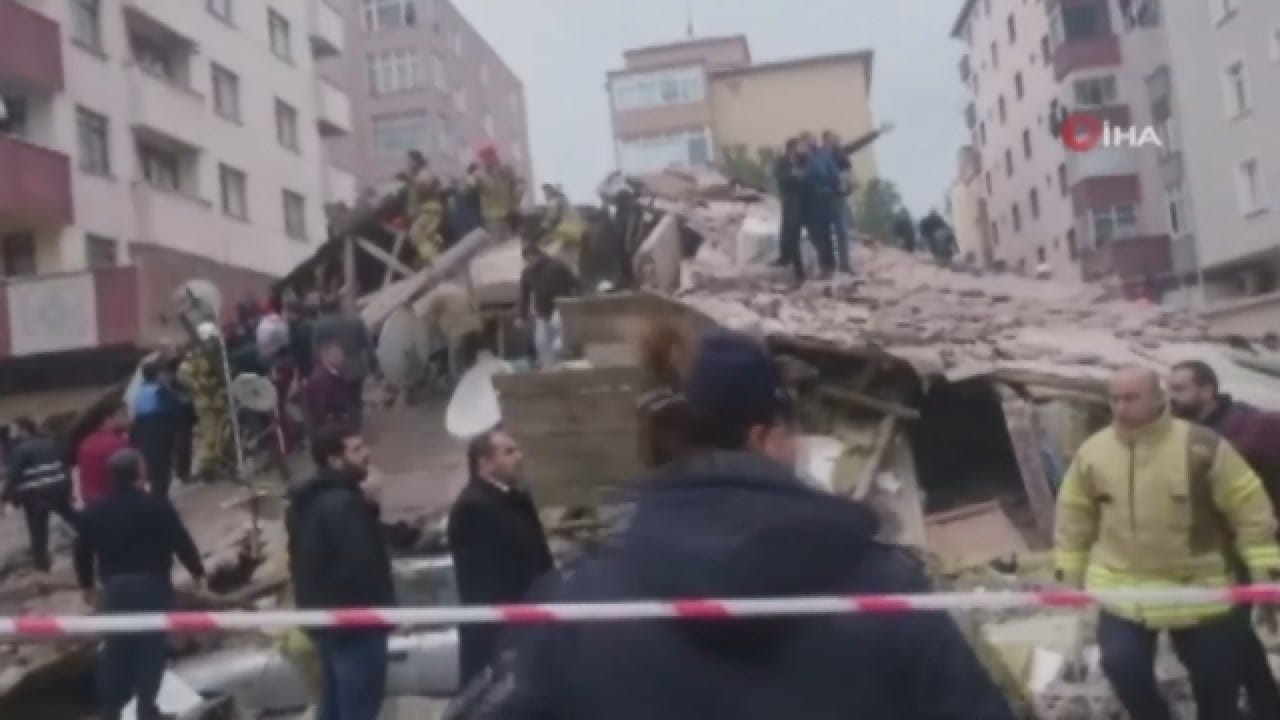 At Least One Dead In 8-Story Building Collapse
