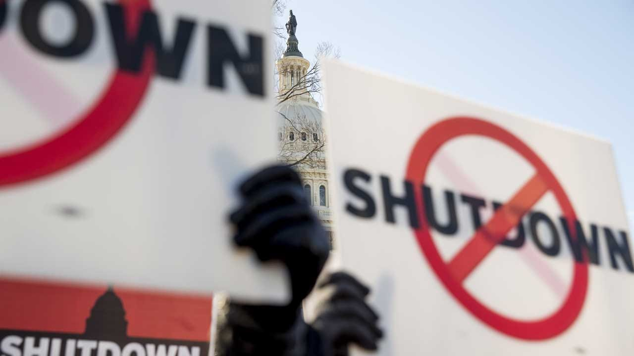 Federal Workers Rally Across The Country In Protest Of Shutdown