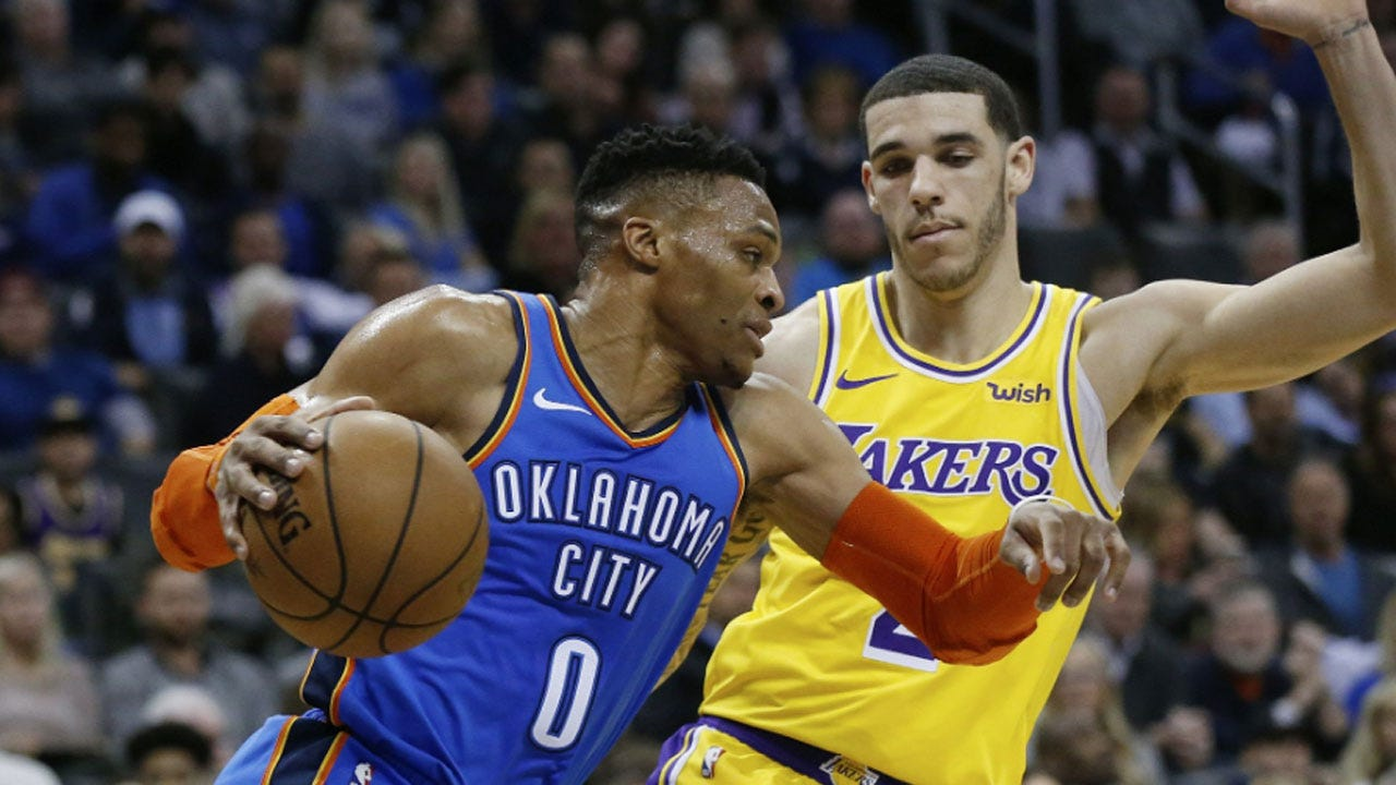 Lakers Top Thunder In OT Without LeBron
