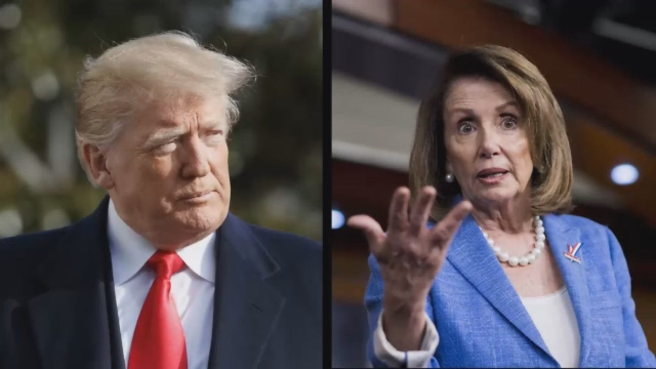 Trump Tweets Heavily Edited Video Of Pelosi Played By Fox Business
