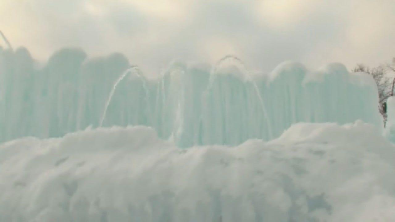 Ice Castles In Lake Geneva Open For Season