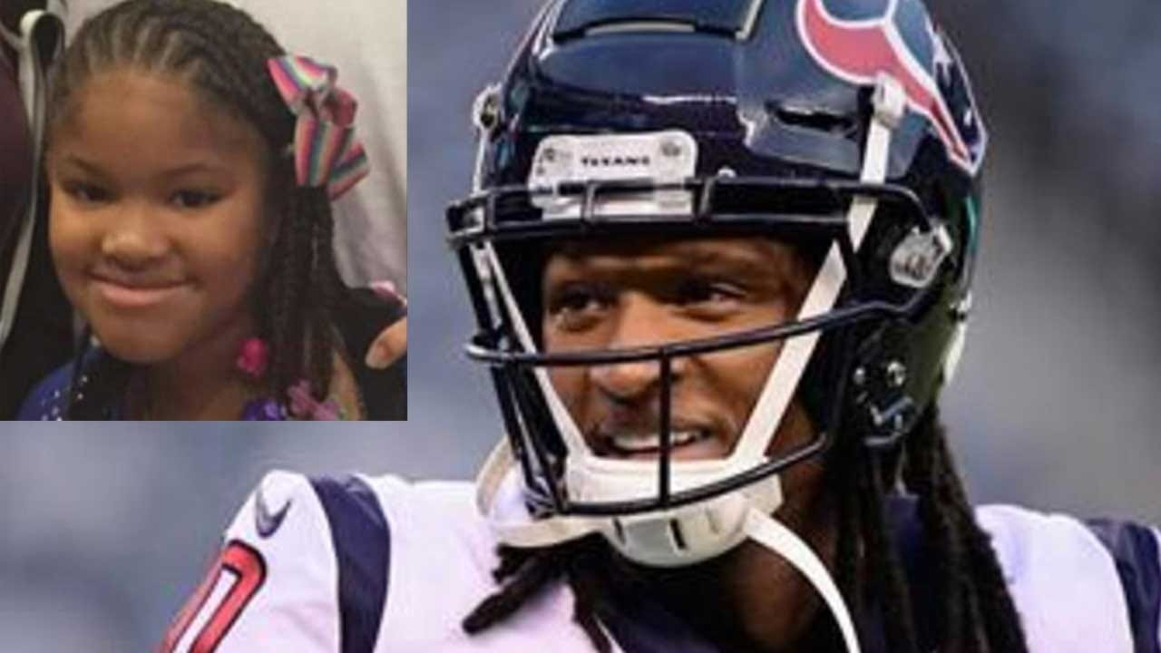 Houston Texans' DeAndre Hopkins Donates Playoff Game Check To Family Of Girl Slain In Car