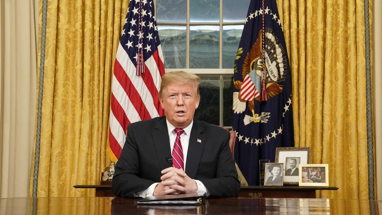 President Trump Declares 'Crisis' At Border In Prime-Time Oval Office Address