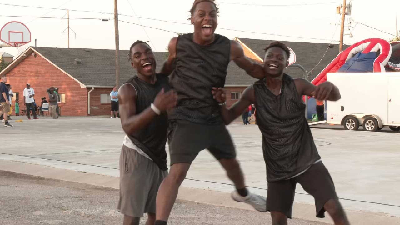 United Voice: Midnight Basketball Program Celebrates 21 Years Of Keeping NE OKC Kids Safe