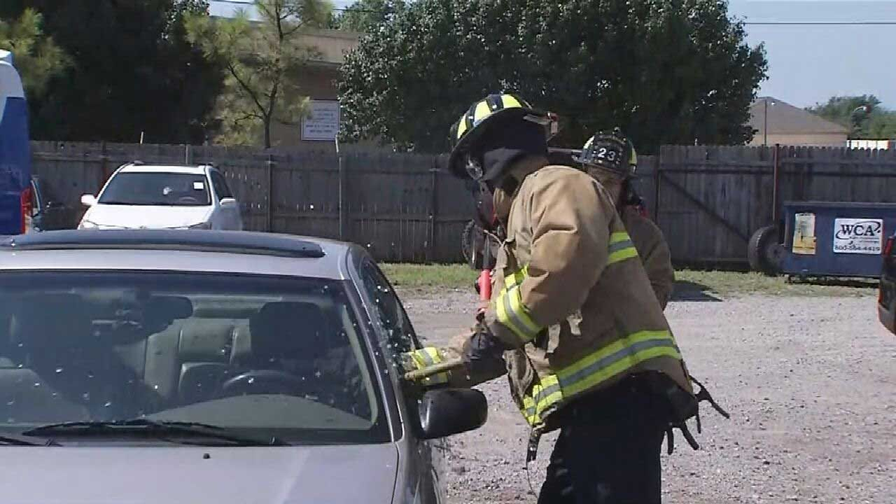 Oklahoma First Responders Rescue At Least 45 Children From Hot Cars In June And July