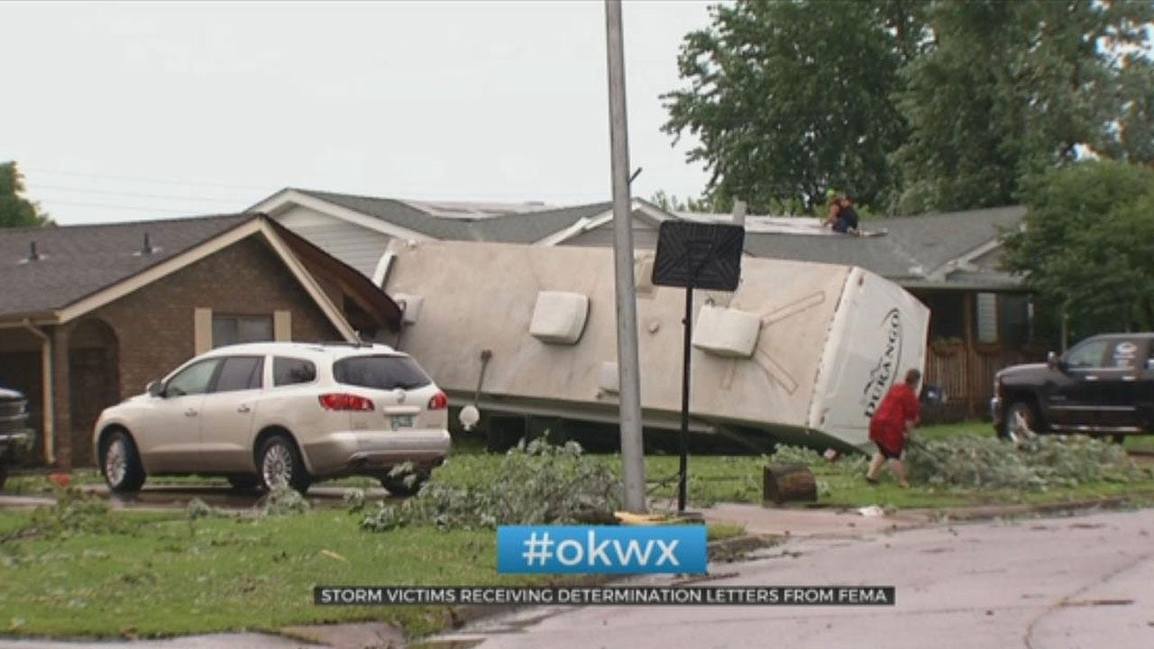 Oklahoma Storm Victims Receiving Determination Letters From FEMA