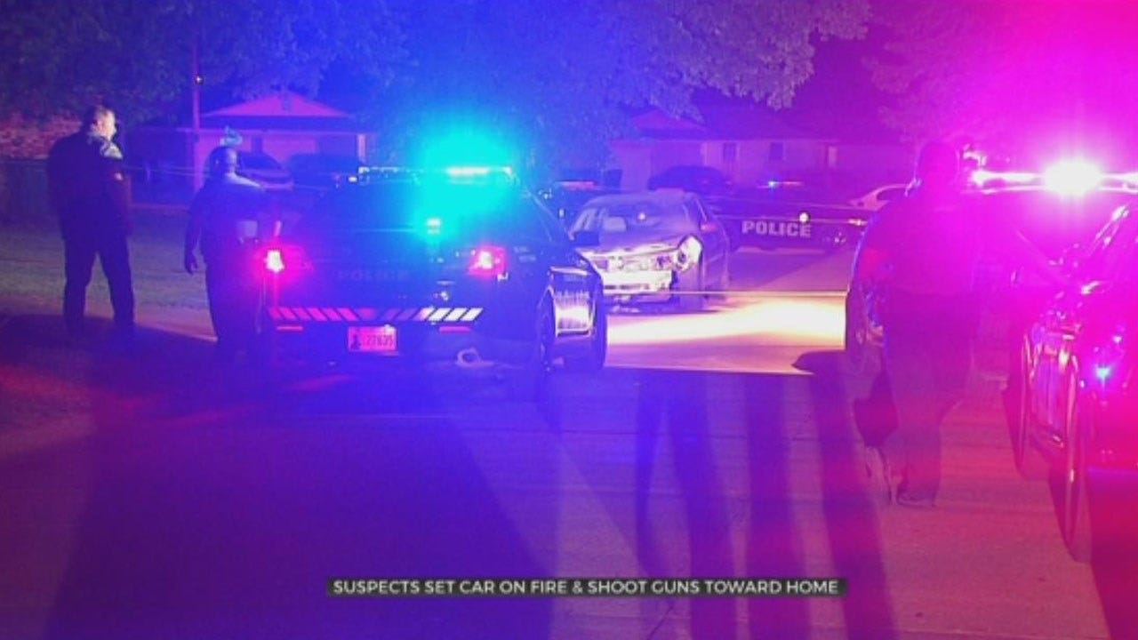 Police Search For Suspect That Set Car On Fire, Fired Shots Toward SE OKC Home