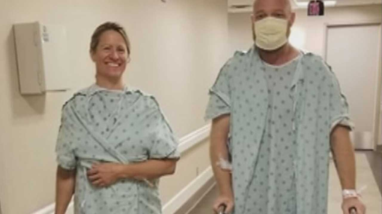 Mississippi Woman Hopes To Inspire Others After Donating Kidney To Oklahoma Man