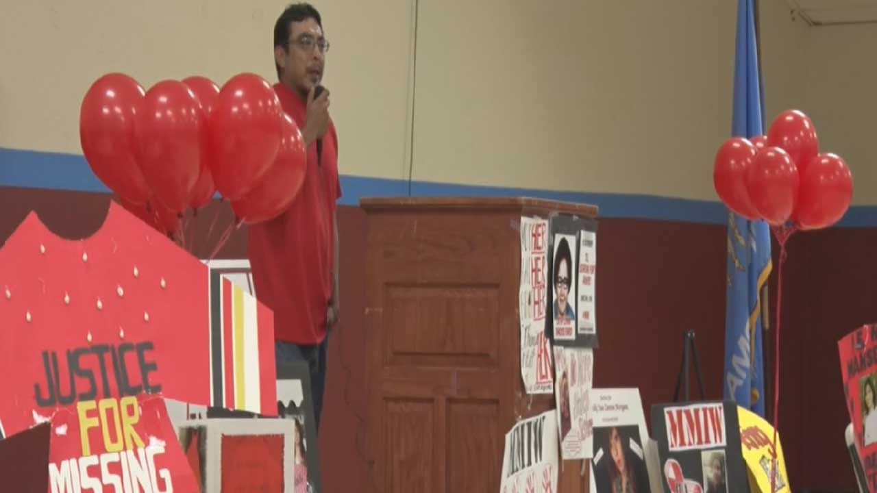 United Voice: Cheyenne & Arapaho Tribes Honor MMIW With March