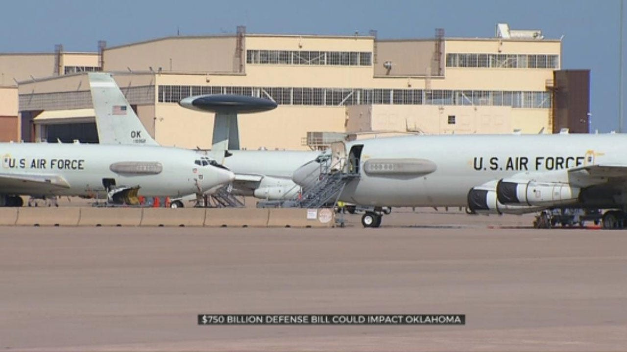 US Senate Considering Defense Bill That Would Impact Okla. Military Installations