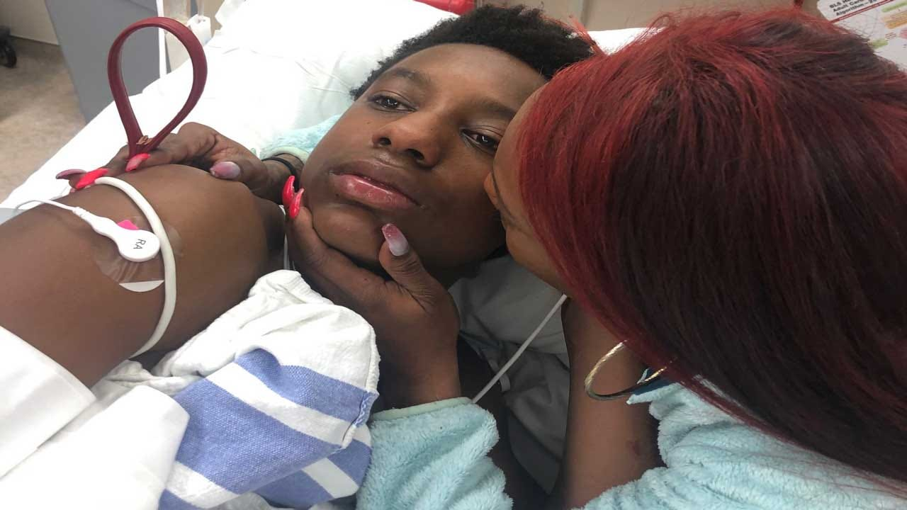 Mother Reacts After OKC Police Officer Shoots Her 14-Year-Old Son