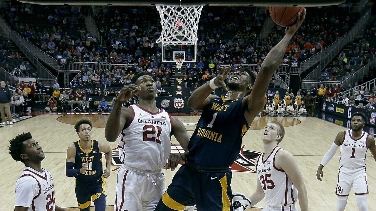 Sooners Lose To West Virginia By 1 In Big 12 Tourney