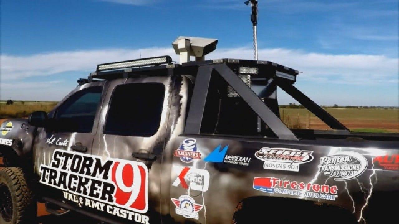News 9's Val Castor Builds Monster Storm Truck