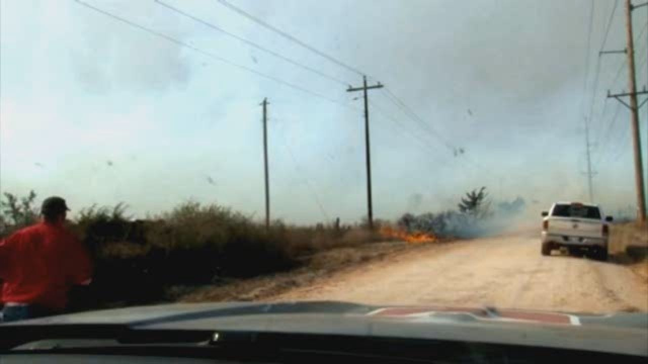 Storm Tracker Marty Logan Covers Oklahoma's Wildfires