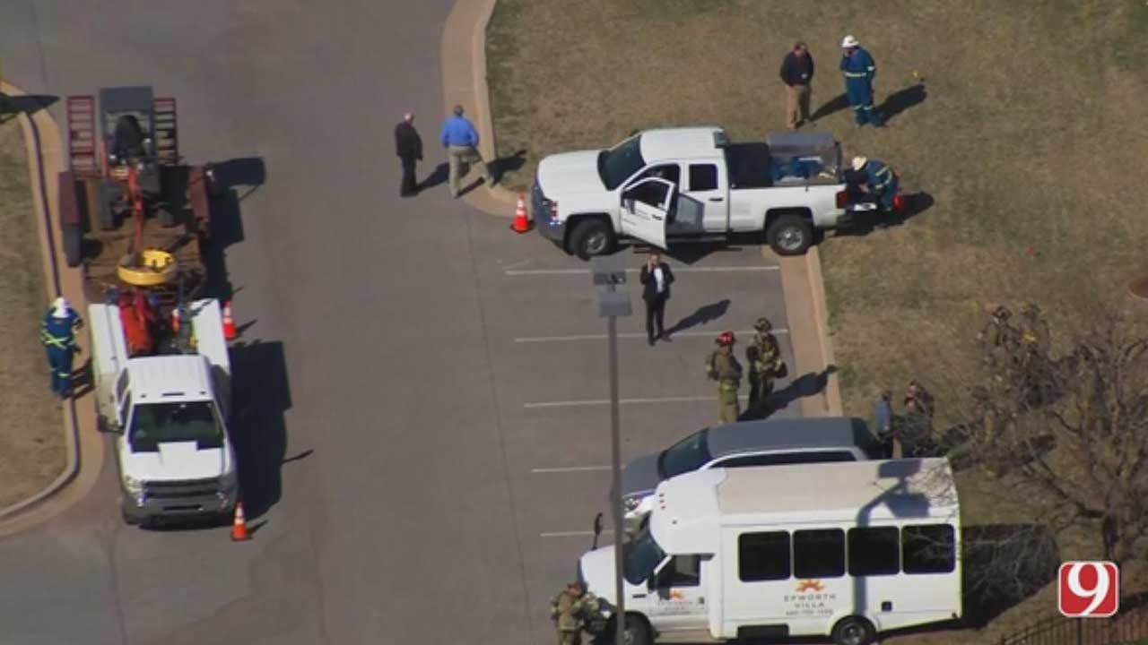 Residents At NW OKC Retirement Community Evacuated Due To A Gas Leak