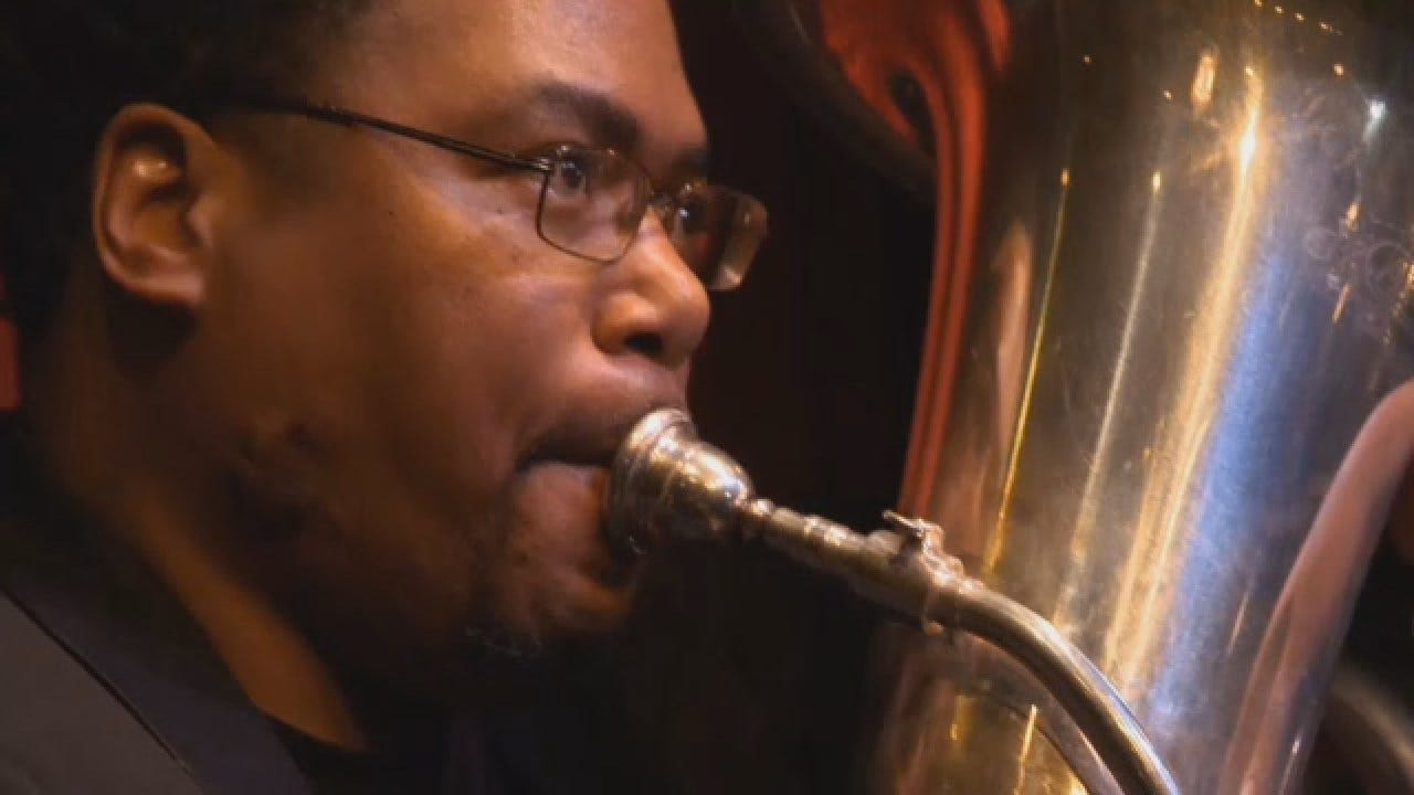 Tuba Player Finds Harmony After Overcoming Homelessness