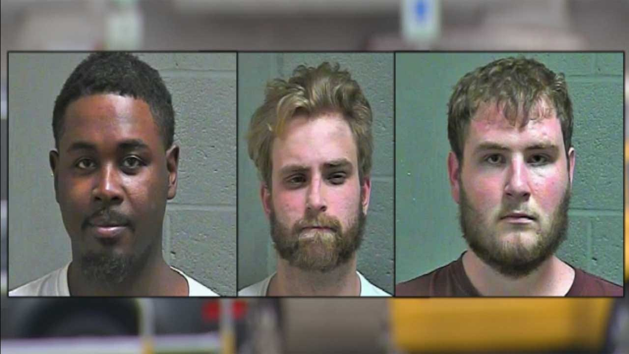 3 Arrested Following OKC Crime Spree, Dangerous Pursuit