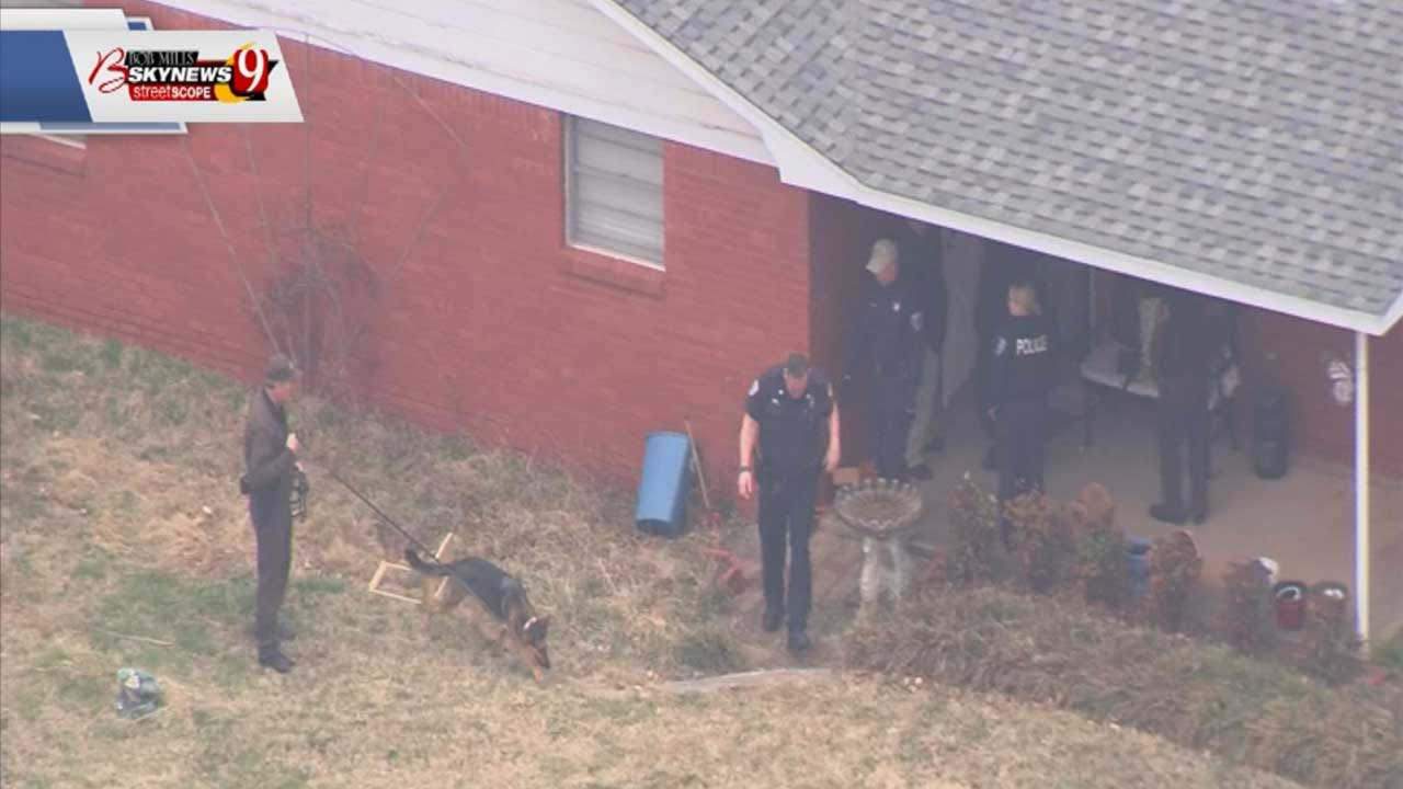 Investigators Return With Bomb Squad At Home Of Edmond Couple Allegedly Killed By Their Son