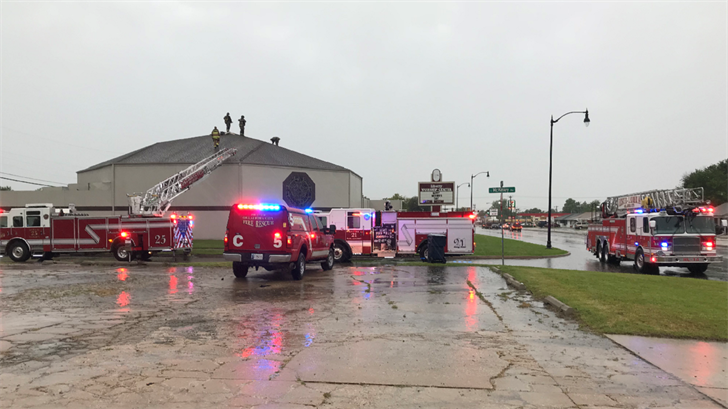 Lightning Strike To Blame For Church Fire In SW OKC