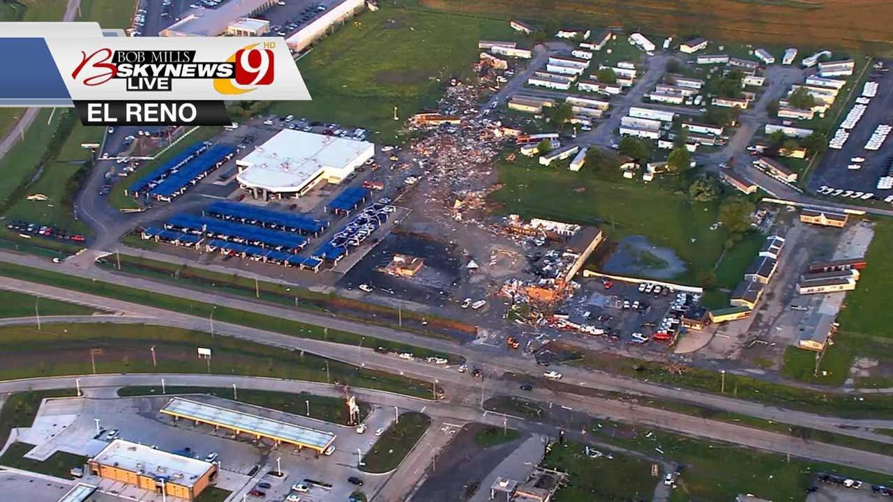 2 Dead, Extensive Damage After Tornado Moves Through El Reno