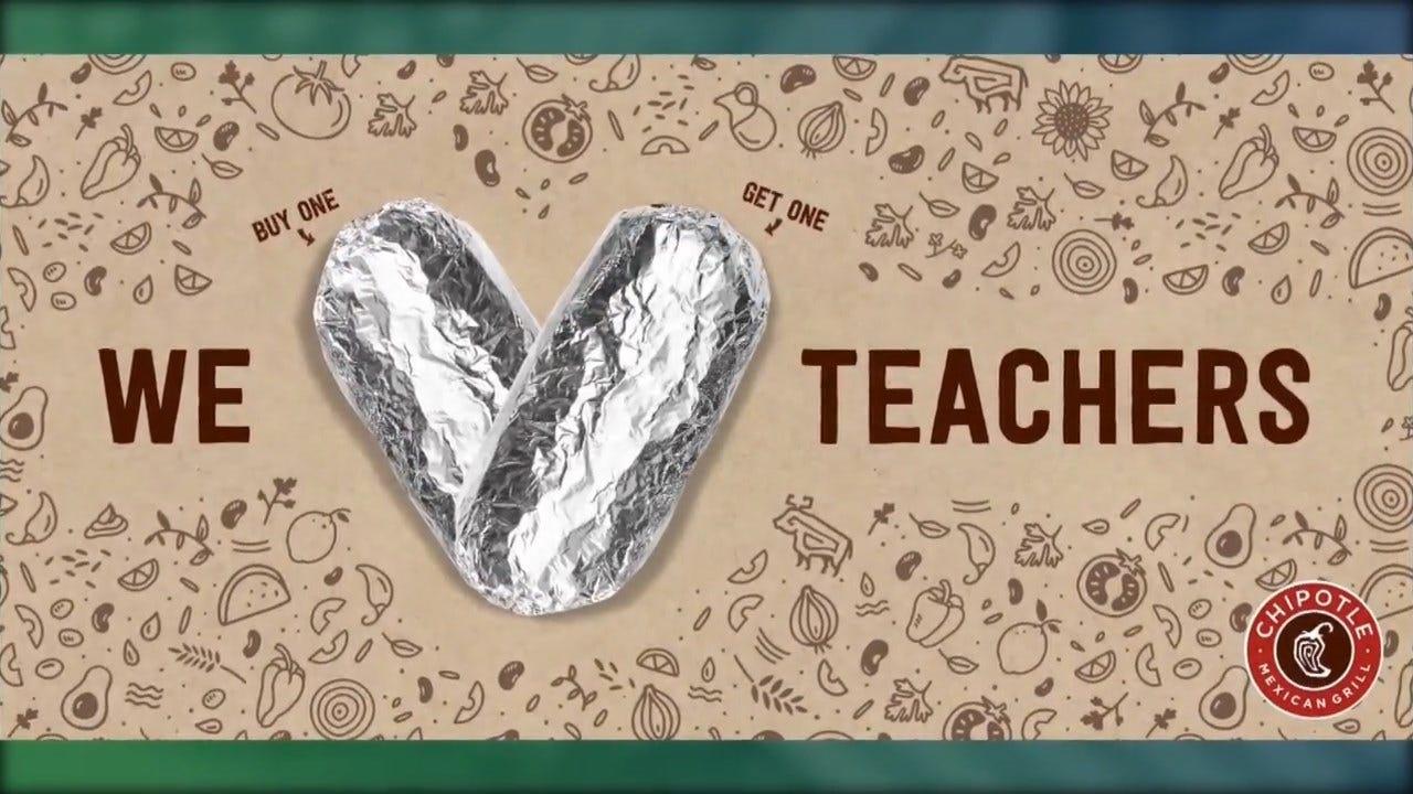 Free Deals And Discounts For Teacher Appreciation Week