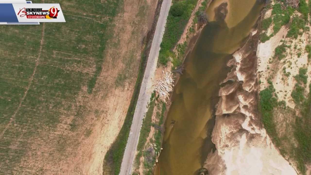 FEMA Awards Grant To Oklahoma County To Repair River Erosion Along Triple X Road