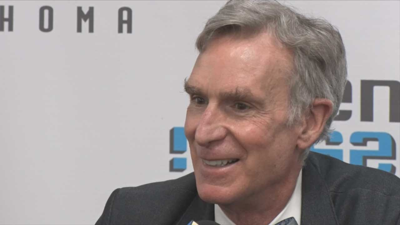 Bill Nye The Science Guy Helps Launch Planetarium Campaign For Science Museum Oklahoma
