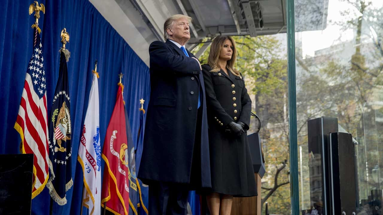 Trump Tells Veterans In New York The 'Nation Is Forever In Your Debt'