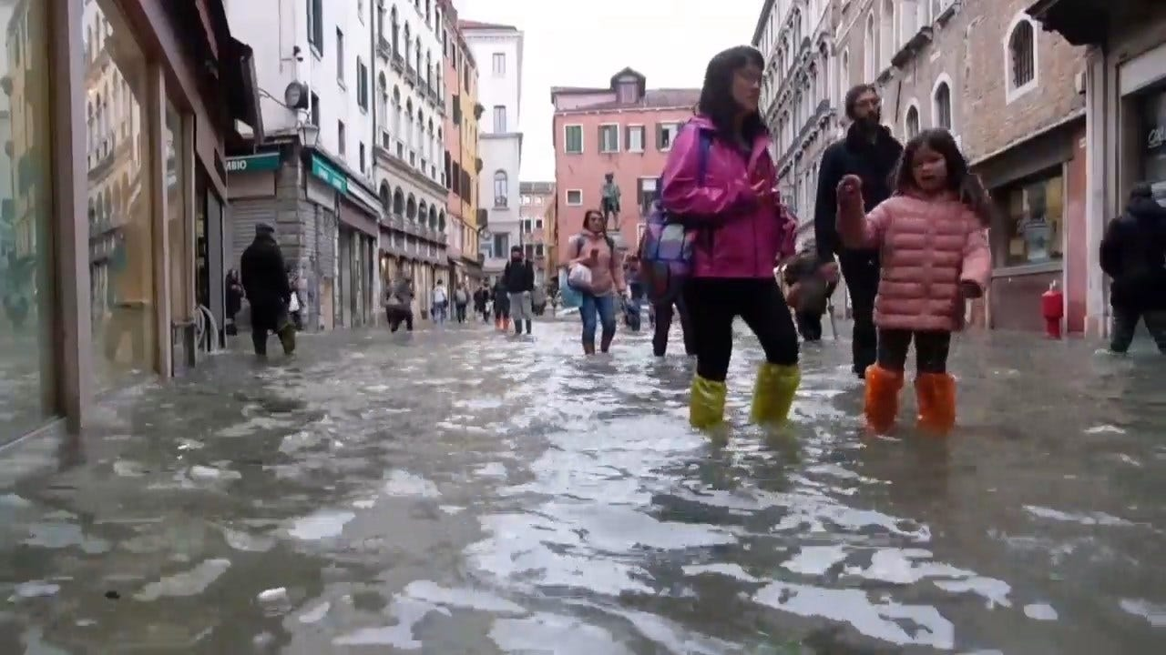 Venice Flooding Is The Worst In 50 Years, The Mayor Blames Climate Change