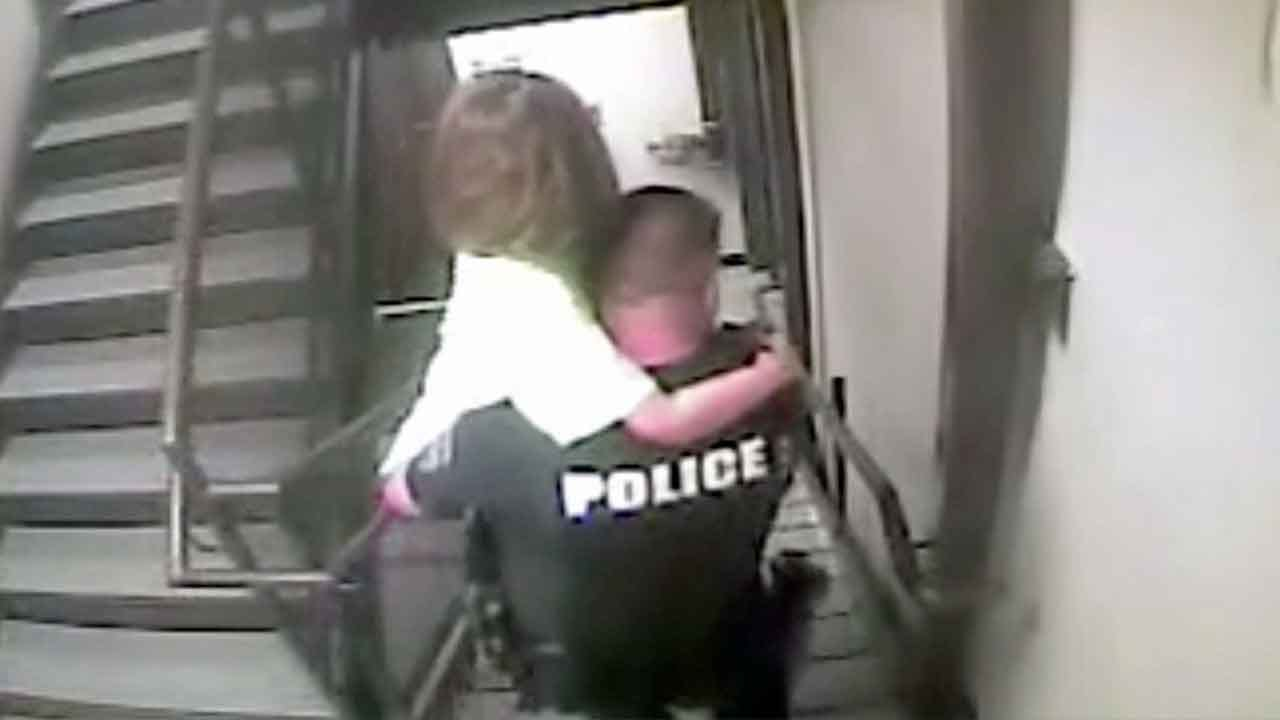 Video Shows Dramatic Rescue Of 8-Year-Old Kidnapping Victim: 'We Got Her!'