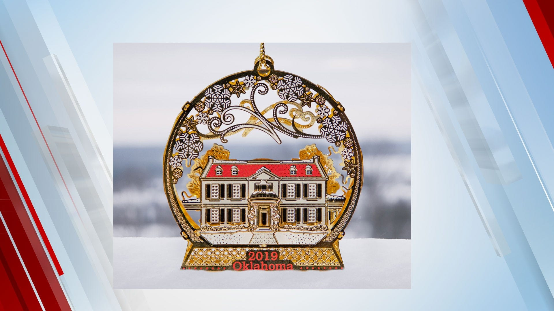 2019 Oklahoma Holiday Ornament Released