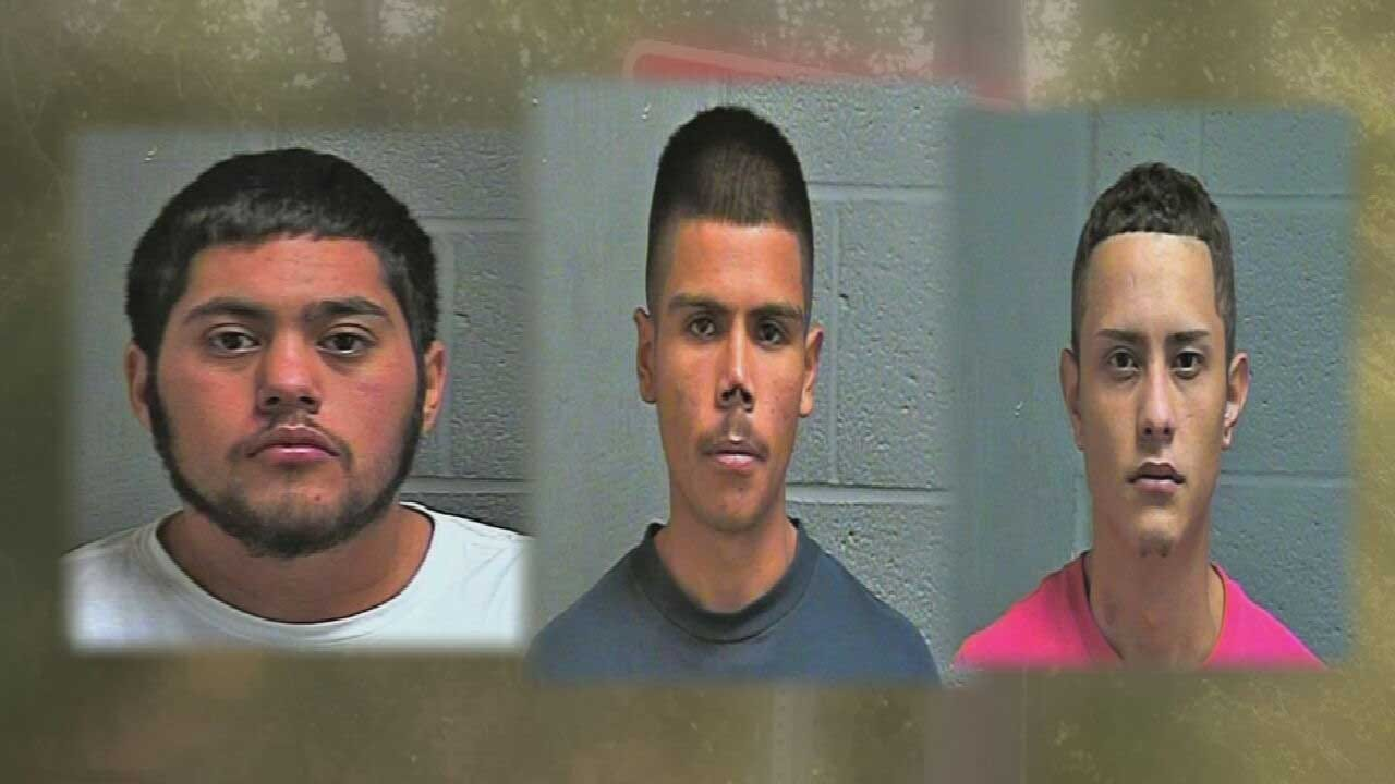 3 Fugitives Arrested, Face Multiple Drug Charges After Traffic Stop In OKC