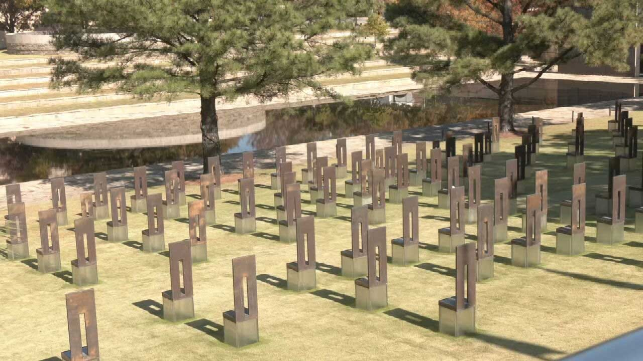 Day 1 of 168-Day Remembrance of Oklahoma City Bombing Victims