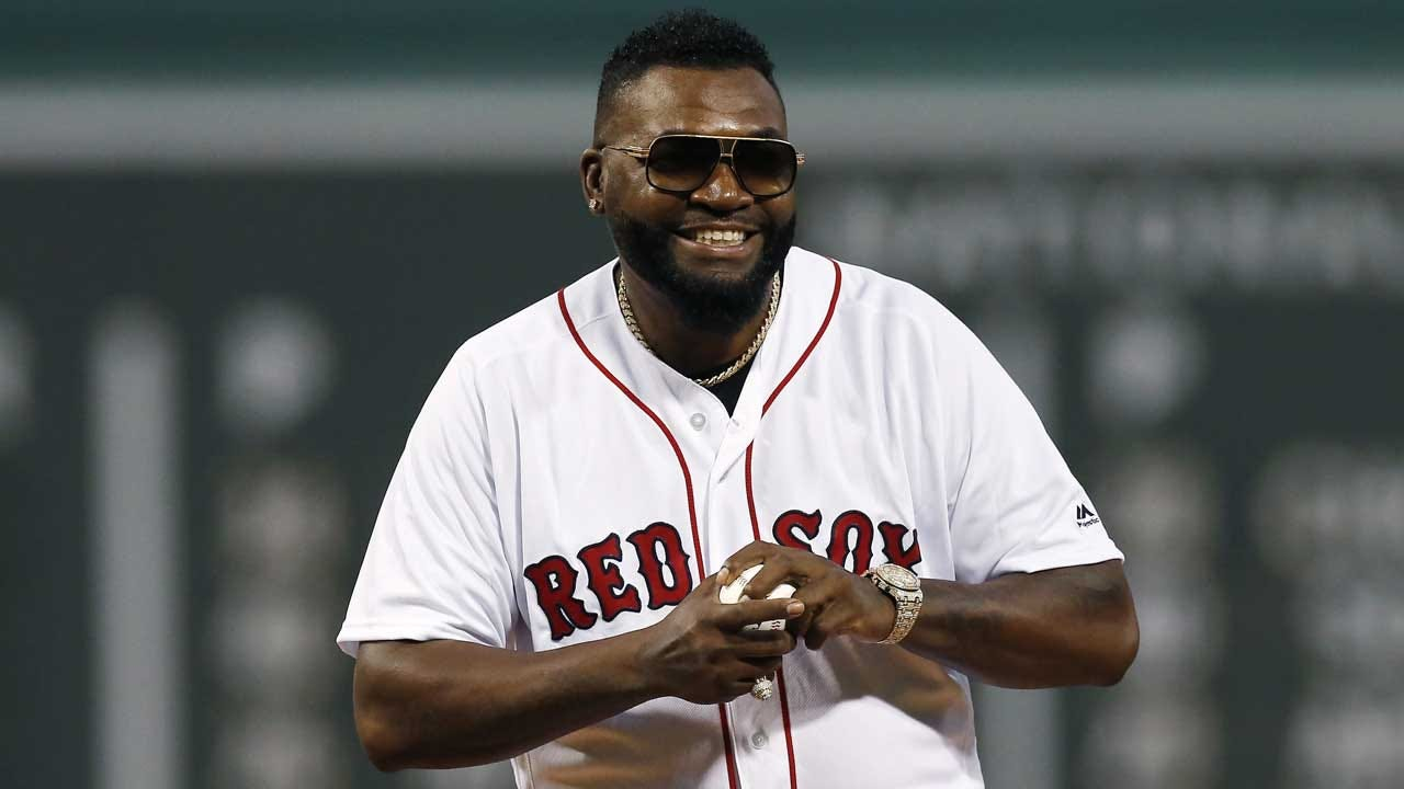 Red Sox Legend David Ortiz Throws Out 1st Pitch At Fenway After Being Shot In Dominican Republic