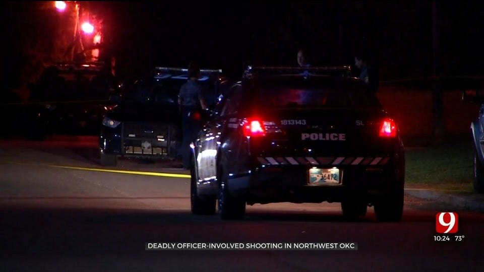 Police Identify Suspect In Deadly NW OKC Officer-Involved Shooting
