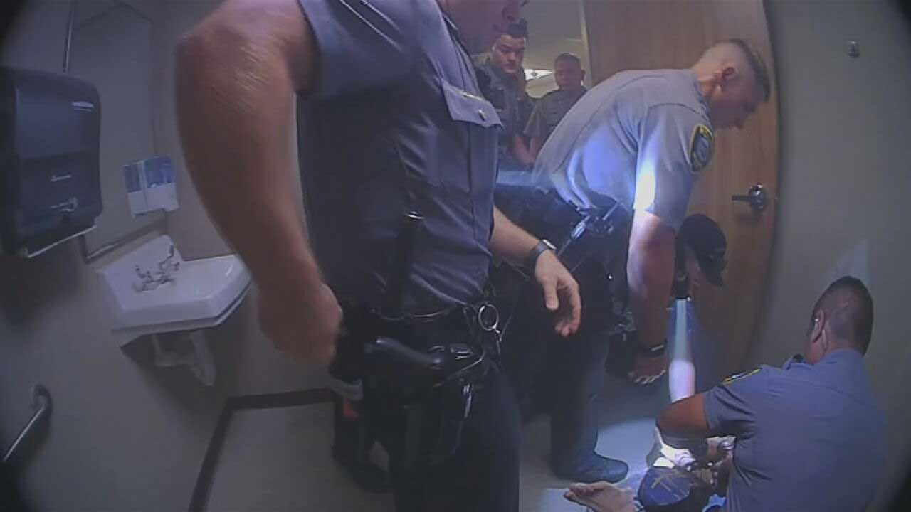 WATCH: OCPD Releases Bodycam Video Of Man Arrested In Hospital Lockdown
