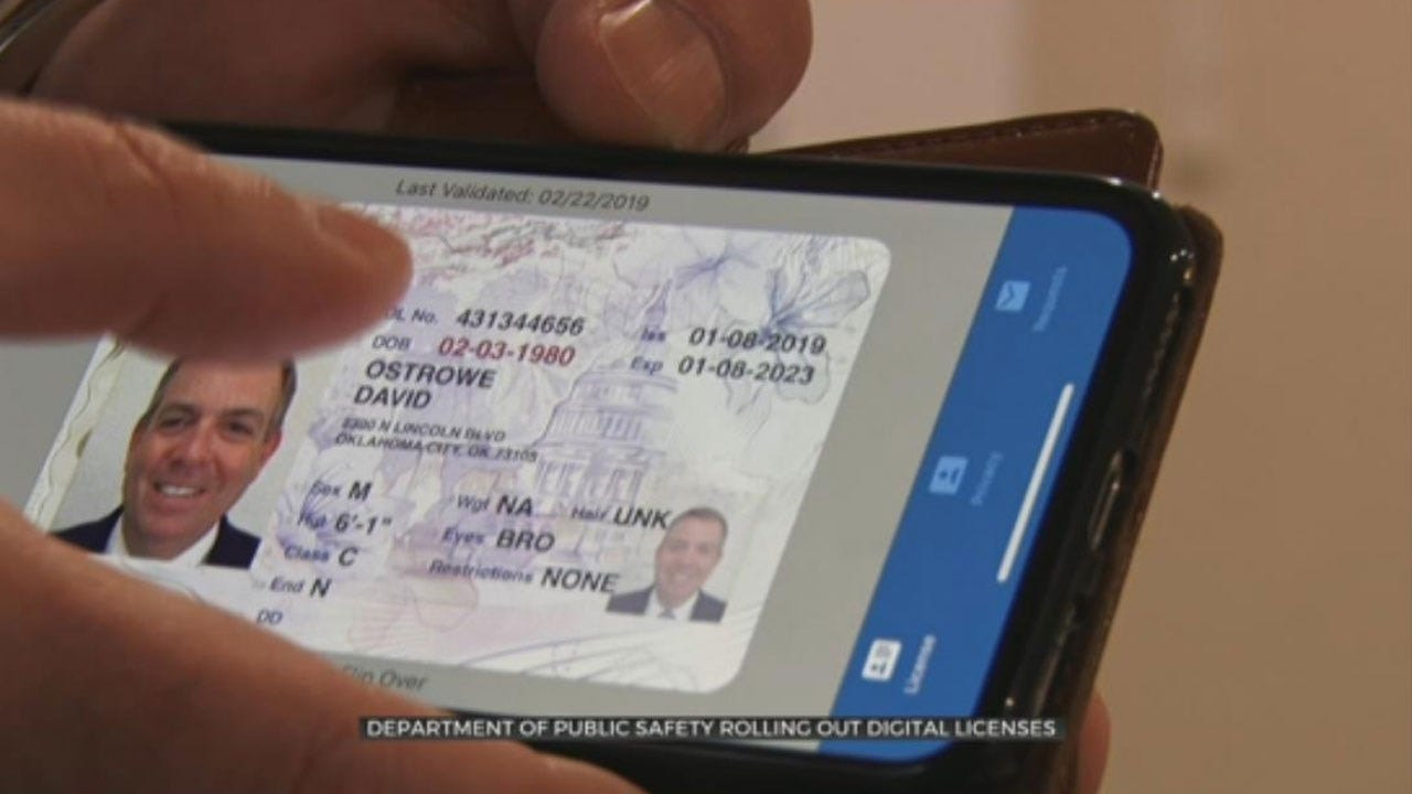Department Of Public Safety Preparing To Roll Out Digital Licenses