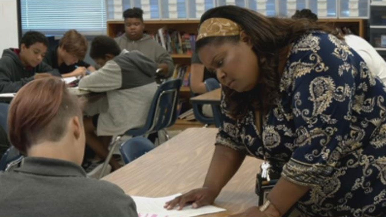Teacher Speaks About OKCPS' Consolidation Plan's Impact