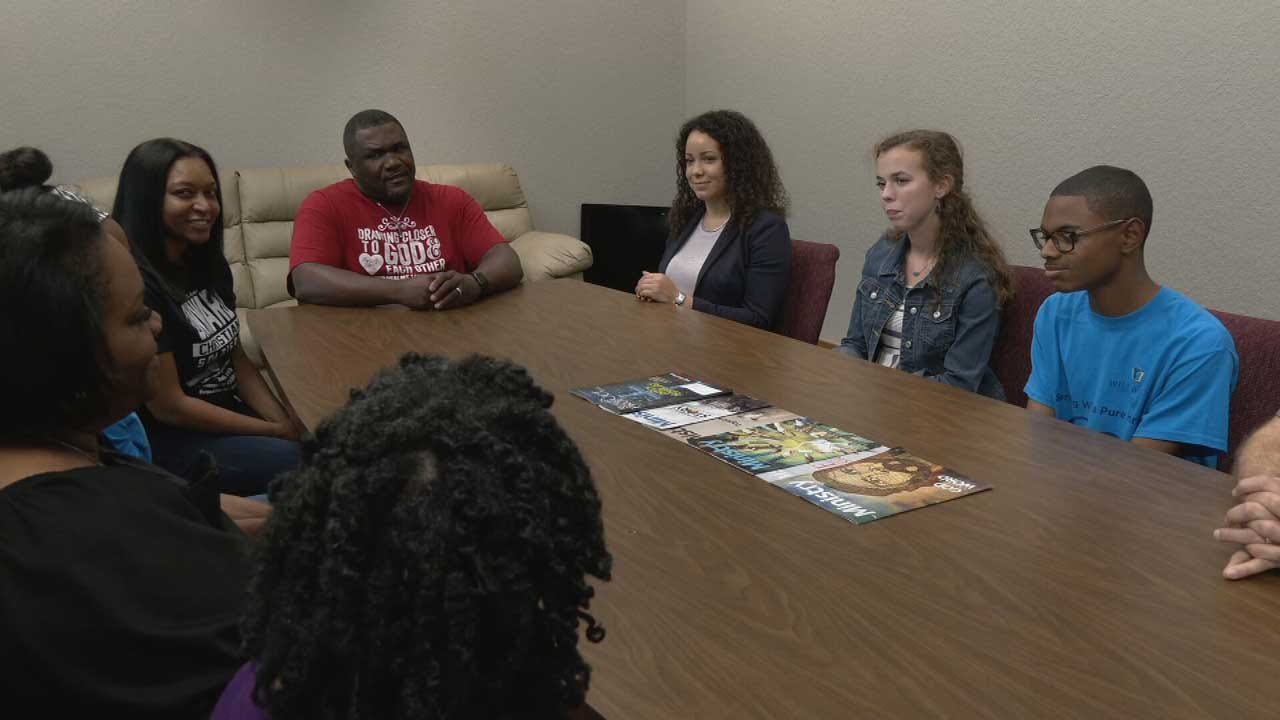United Voice: OKC Teens Plan Dialogue To 'Remove The Walls' Of Racial Divide