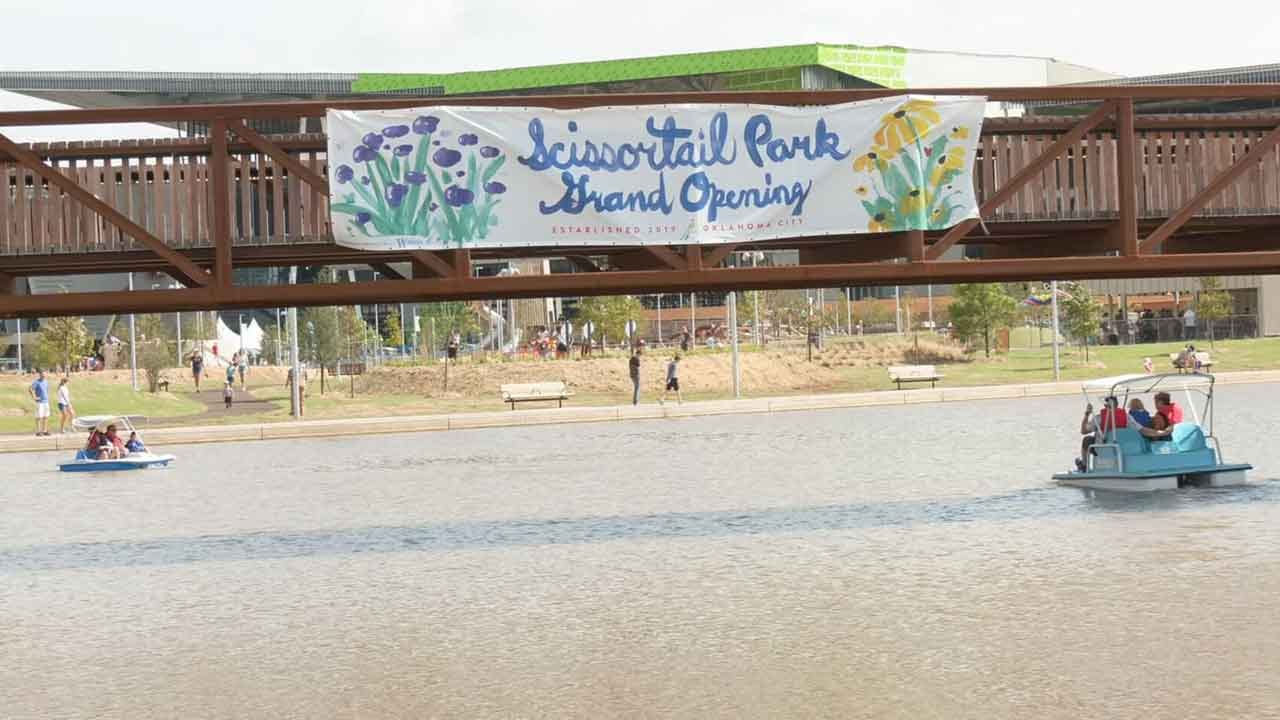 Second Half Of Scissortail Park Opens Saturday