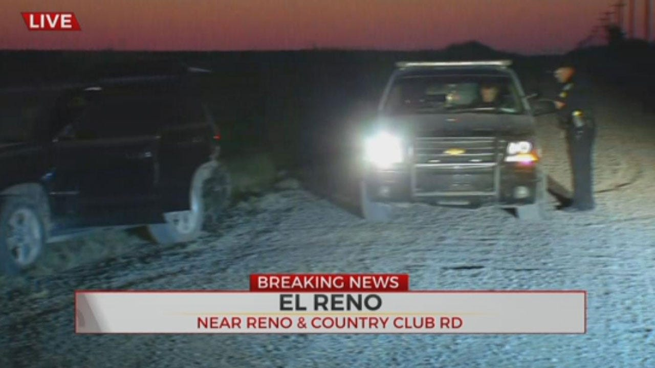 Police: Pursuit Ends In El Reno
