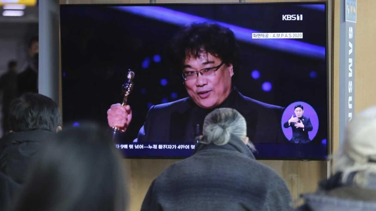 South Koreans Explode With Joy Over 'Parasite' Oscar Wins