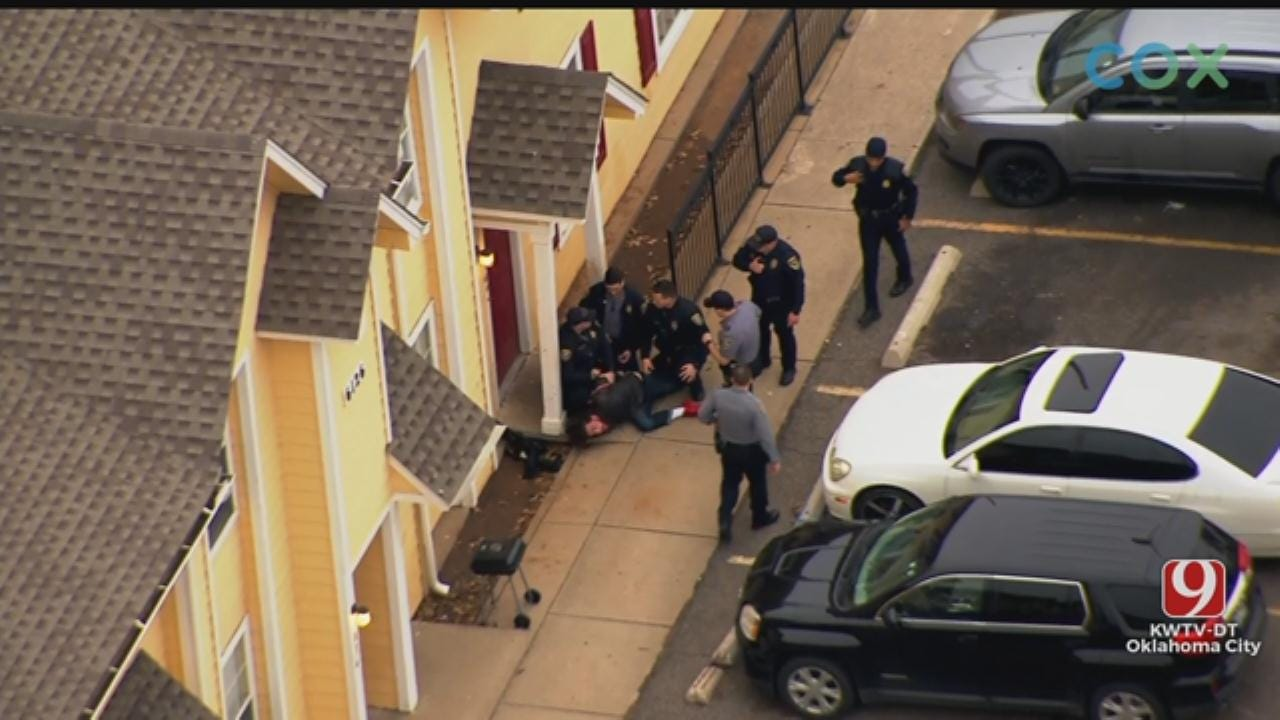 Suspect Taken Into Custody After High-Speed Chase In NW OKC