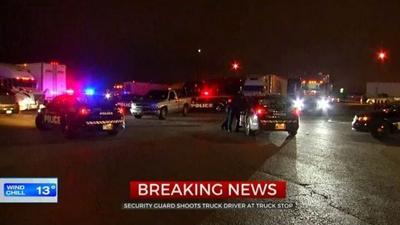 Argument Over Parking Issue Leads To Shooting At SW OKC Truck Stop
