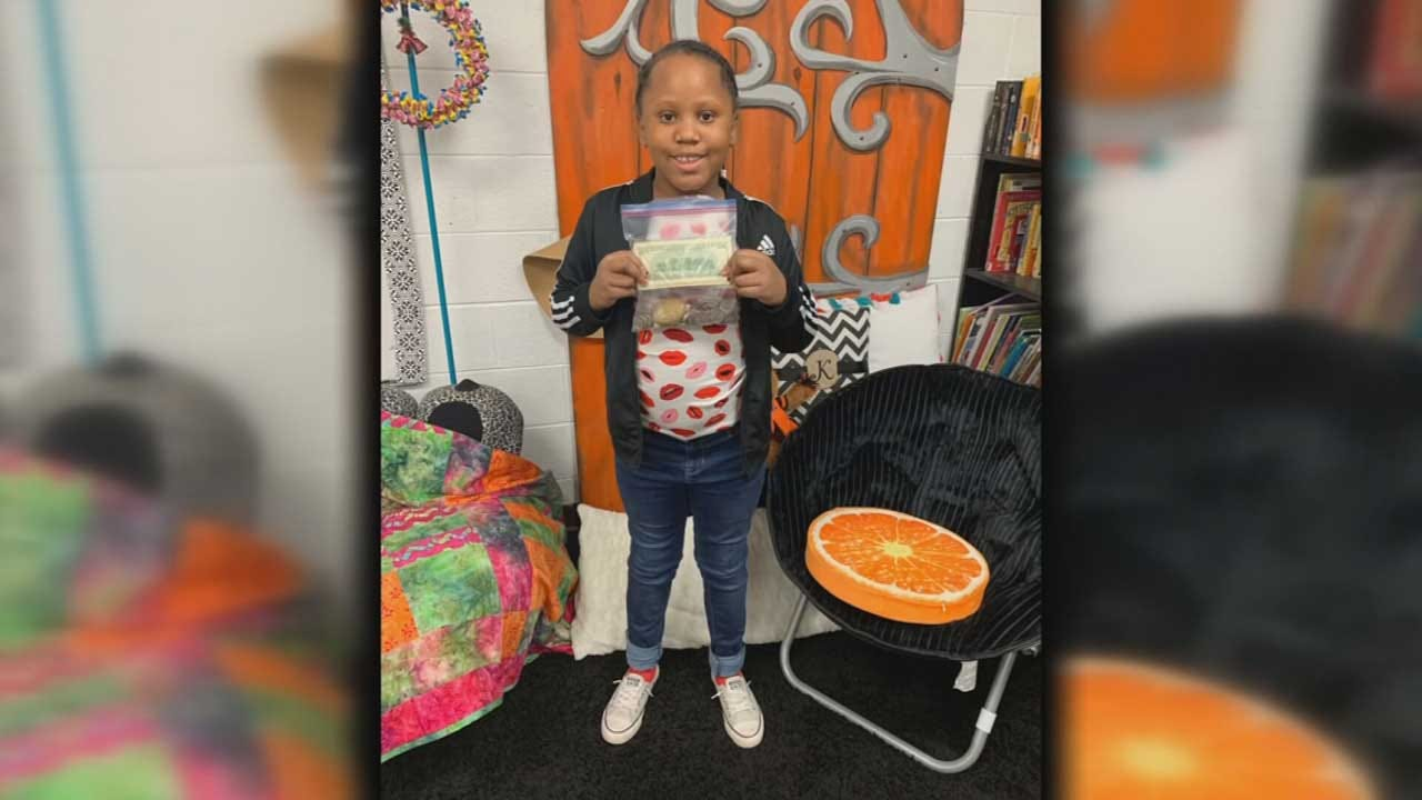 Duncan Third Grader Touches Hearts On Valentine's Day