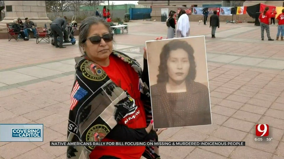 Native Americans Rally At State Capitol