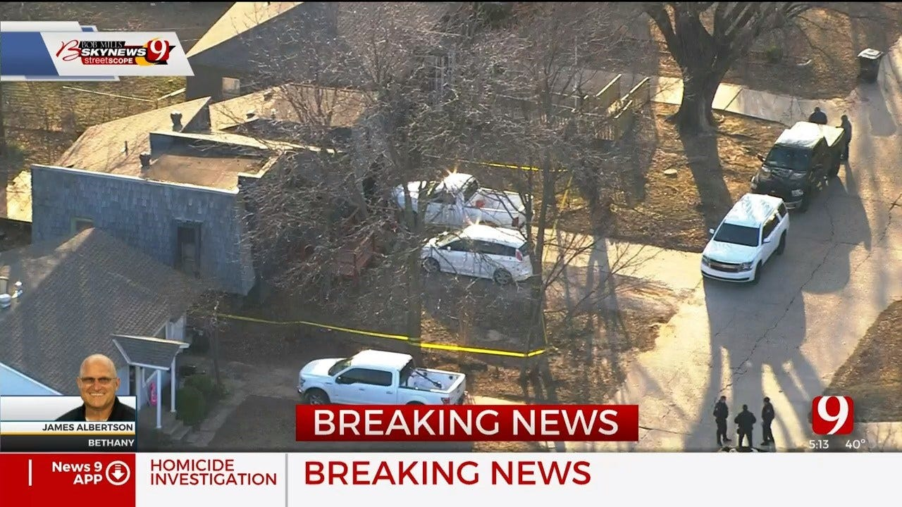 Homicide Investigation Underway In Bethany